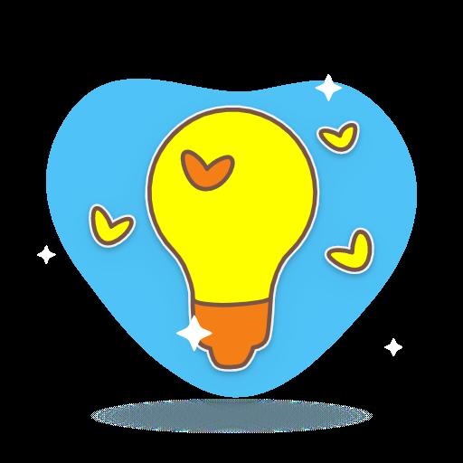 icone lampe